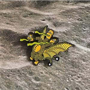 simpsons pin